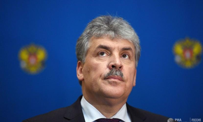Грудинин может получить депутатский мандат Жореса Алферова