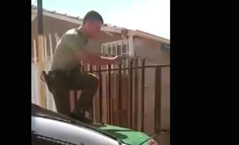 Собака обняла спасшего ее полицейского