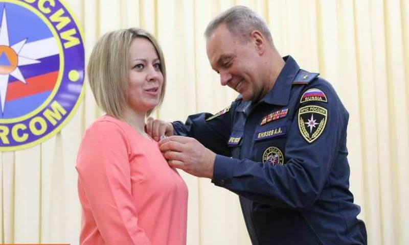 Сыктывкарская учительница награждена за спасение ребенка