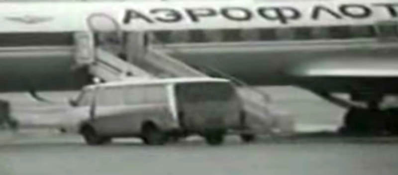 Тот самый Ту-144, в котором Чичкин собирался лететь за рубеж