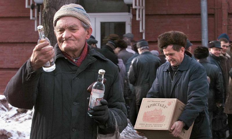 Названы регионы с самым высоким уровнем продаж алкоголя