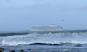 В Норвегии терпит бедствие  круизный лайнер, на борту есть россияне
