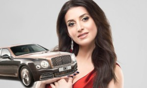 Жасмин купила золотой Bentley Mulsanne за 33,5 млн рублей