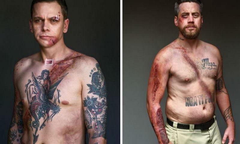 Мужчины, выжившие благодаря ремню безопасности