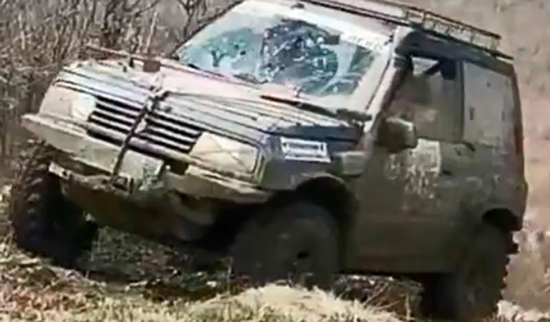 Кувырком с горы слетела машина на  трофи-рейде в Геленджике