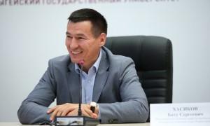 Путин назначил врио главы Калмыкии спортсмена Бату Хасикова