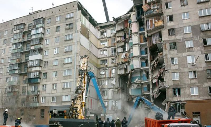 Пострадавший при взрыве газа дом в Магнитогорске признали пригодным для жилья