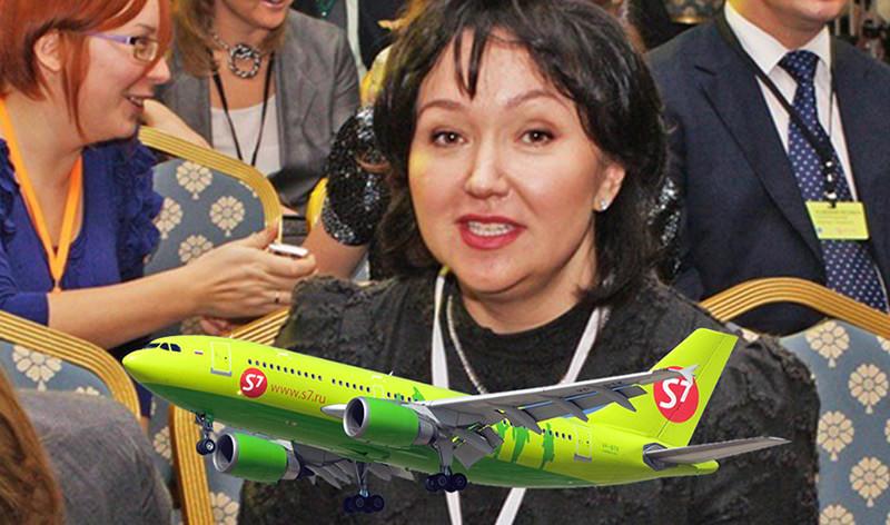 В авиакатастрофе  погибла  совладелица S7, одна из пяти  богатейших женщин России