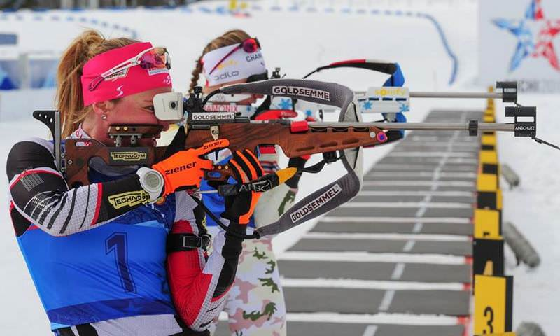 Россиянки заняли весь пьедестал в биатлонном спринте на Универсиаде