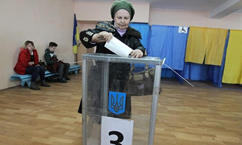 На Украине проходят выборы президента