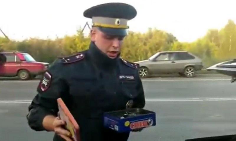 Инспектор ДПС героически задержал шуруповёрт в Новокузнецке