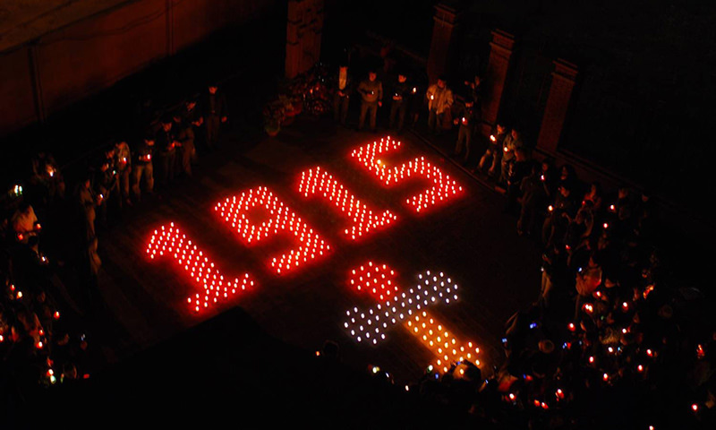 Календарь: 24 апреля - День памяти жертв геноцида армян