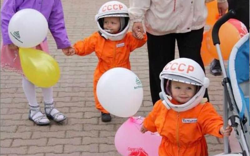 Когда все мечтали стать космонавтами...