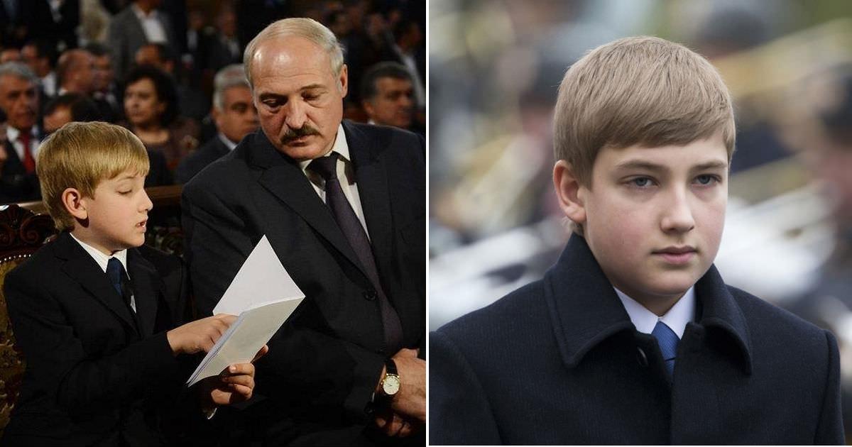"""Изменившегося до неузнаваемости сына Лукашенко назвали """"белорусским принцем Уильямом"""""""
