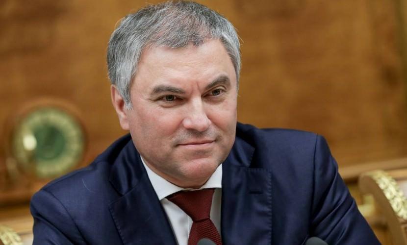 Вячеслав Володин пожертвовал половину своих доходов