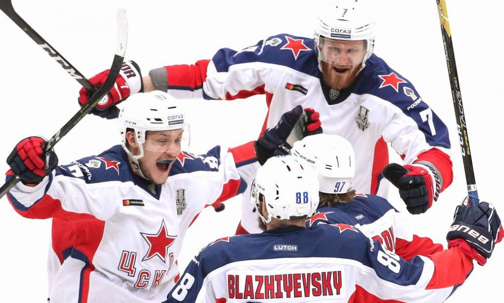 ЦСКА впервые в истории стал обладателем Кубка Гагарина