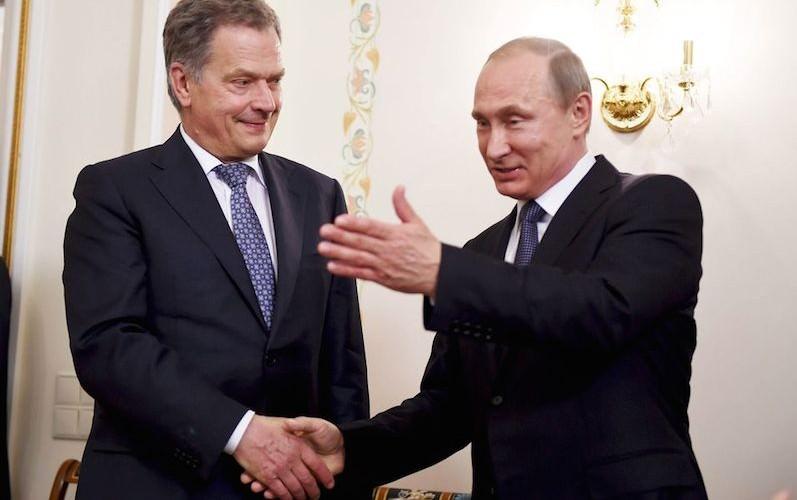 Шутка Путина о финских туристах имела успех у их президента