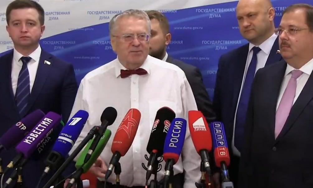 Жириновский предложил выключать на выходных телевидение для россиян