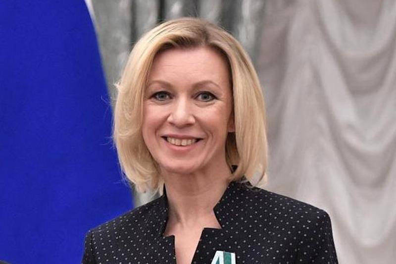 Мария Захарова хохотала над интервью в