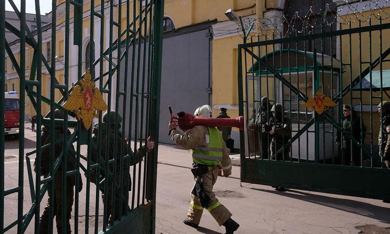 В здании Военной академии в Петербурге прогремел взрыв