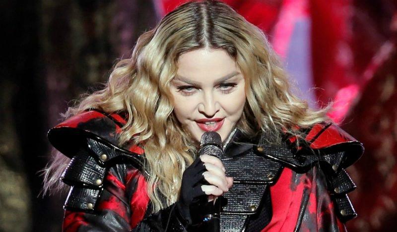Мадонне заплатят 1 млн $ за короткое выступление на «Евровидении»
