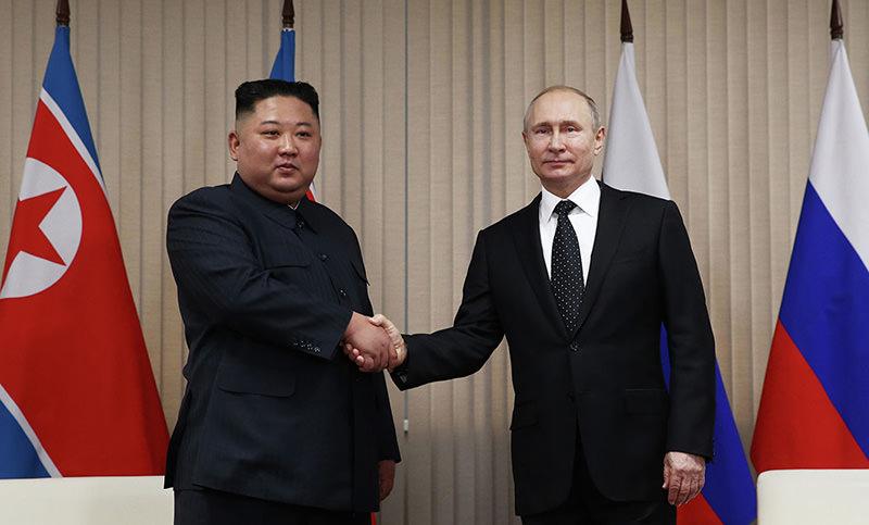 В Приморье начались переговоры Владимира Путина и Ким Чен Ына