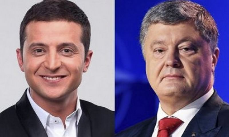Зеленский и Порошенко прошли во второй тур выборов президента Украины
