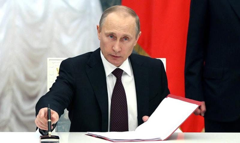 Владимир Путин одобрил введение 5 новых налогов