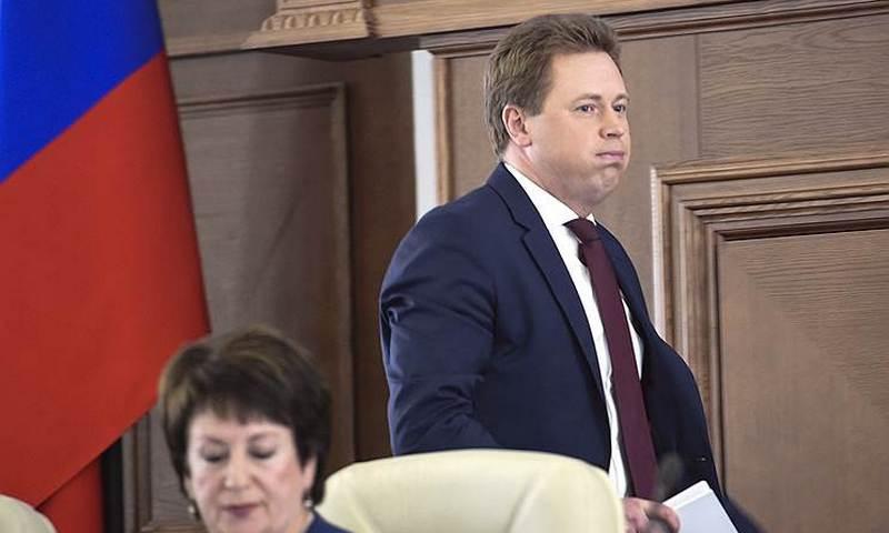 Губернатора Севастополя обвинили в создании ОПГ