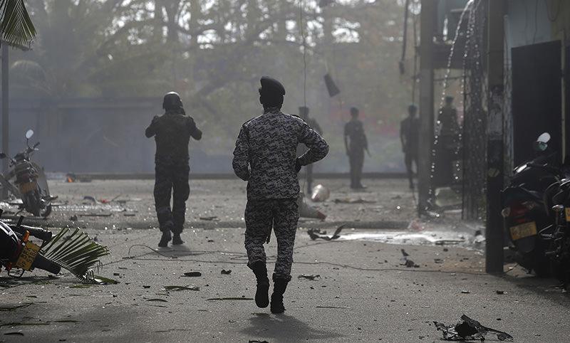 На Шри-Ланке прогремело три новых взрыва