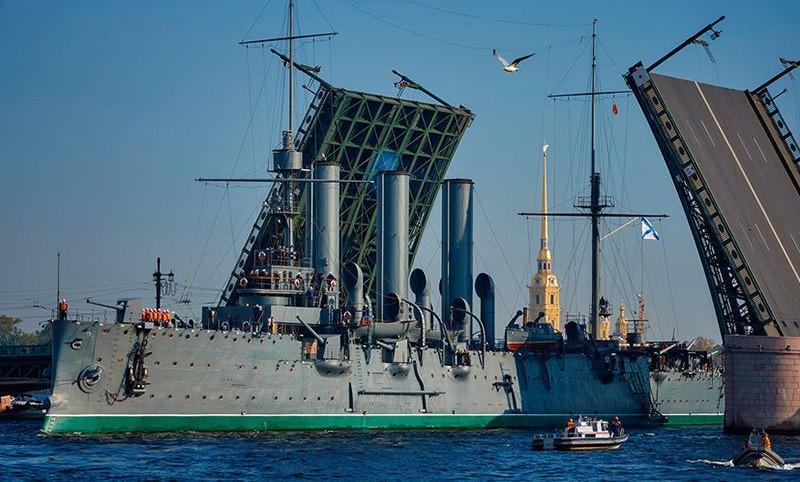 Календарь: 24 мая - 119 лет назад спущен на воду крейсер «Аврора»