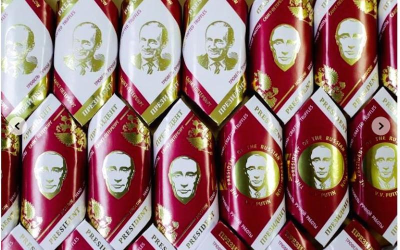 """Интернет-магазины предлагают """"шоколадного Путина"""" по 2640 за кг"""