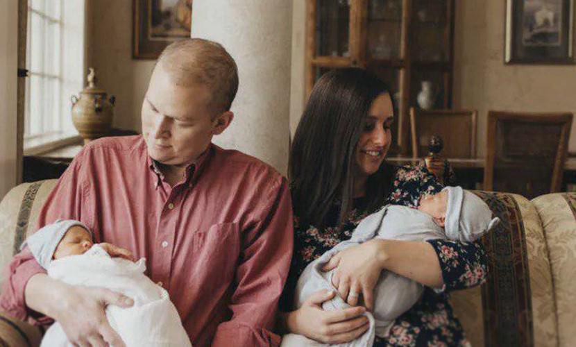 Больной отец до последнего боролся со смертью, что бы увидеть рождение сыновей
