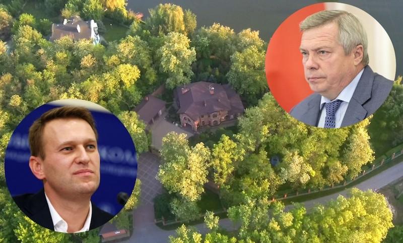 Навальный выпустил расследование о ростовском губернаторе Голубеве