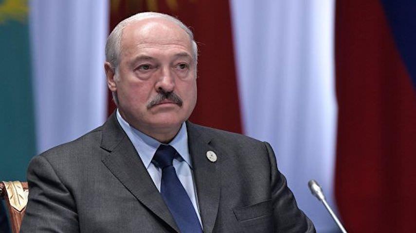 Лукашенко и расческа