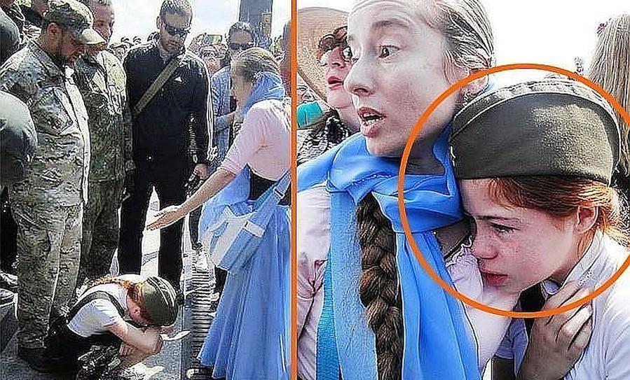 Сбежавших от националистов в Крым мать и дочь хотят депортировать на Украину