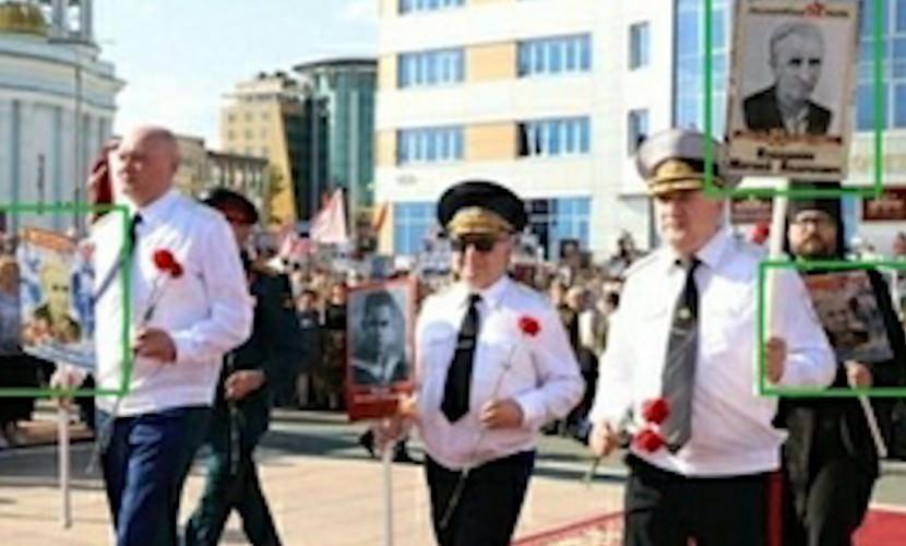В Мордовии глава МВД, прокурор и епископ пришли на акцию «Бессмертный полк» с фотографией одного и того же ветерана