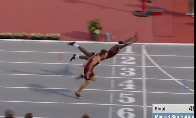 Американский бегун выиграл золото
