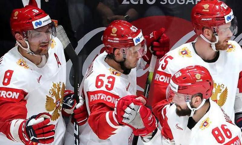 Сборная России одержала волевую победу над Латвией