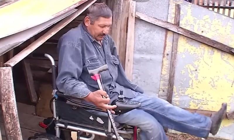 В Башкирии инвалида без ног хотели оштрафовать за нескошенную траву