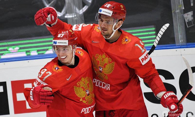 Сборная России заняла третье место на чемпионате мира по хоккею