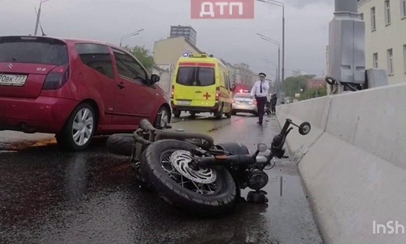 Появилось видео момента аварии с Сергеем  Доренко
