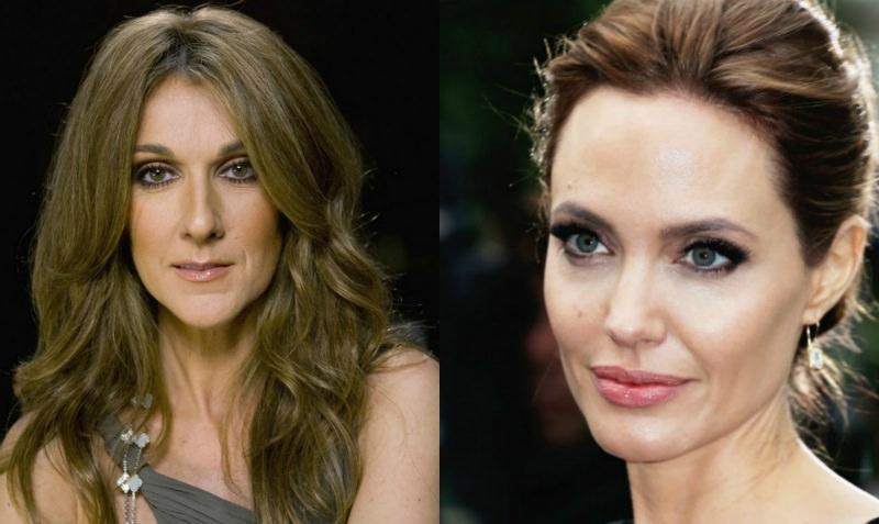 Скандал в Голливуде: Анджелина Джоли оскорбила Селин Дион отказом