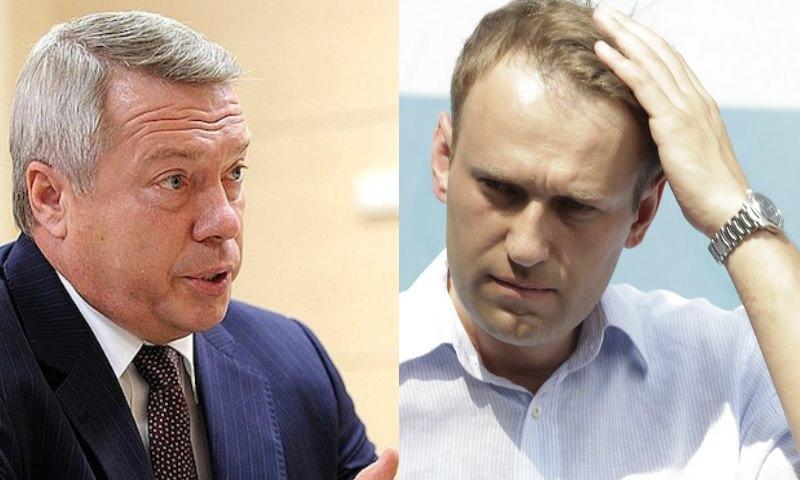 Ростовского губернатора заподозрили в связях с Навальным