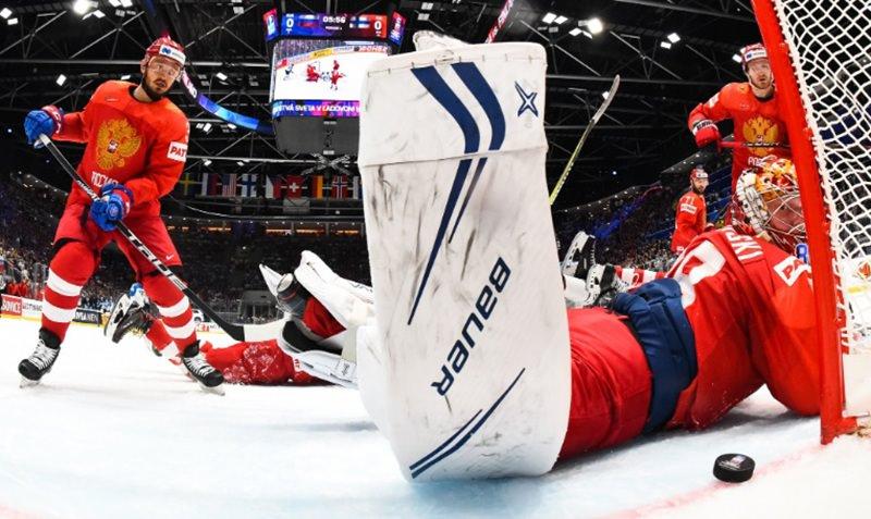 Сборная России по хоккею проиграла финнам