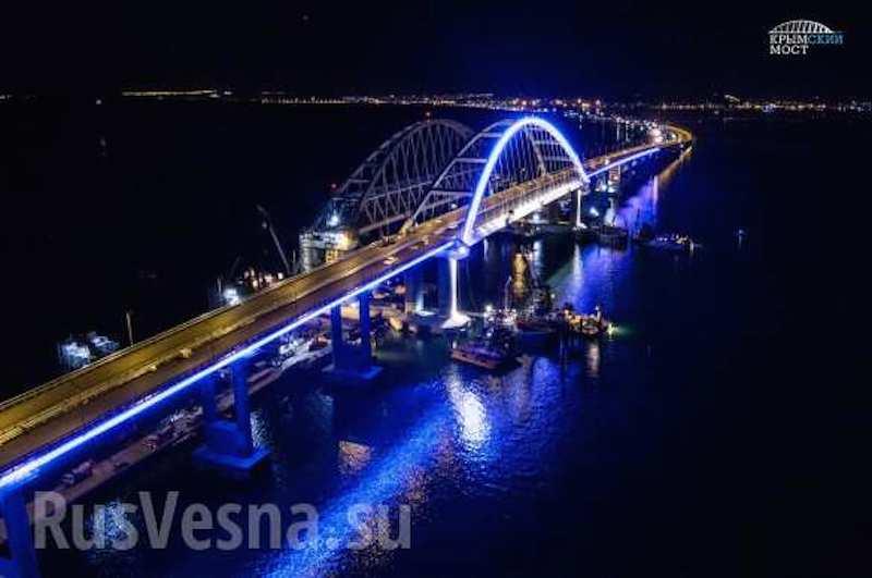 52 тысячи слонов и 5 млн авто: Крымский мост отмечает первую годовщину