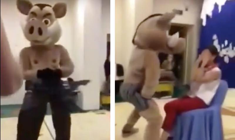 Стриптиз в детском саду: развратные танцы устроили  в честь открытия