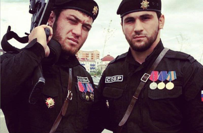 Чеченский спецназ попал под санкции США