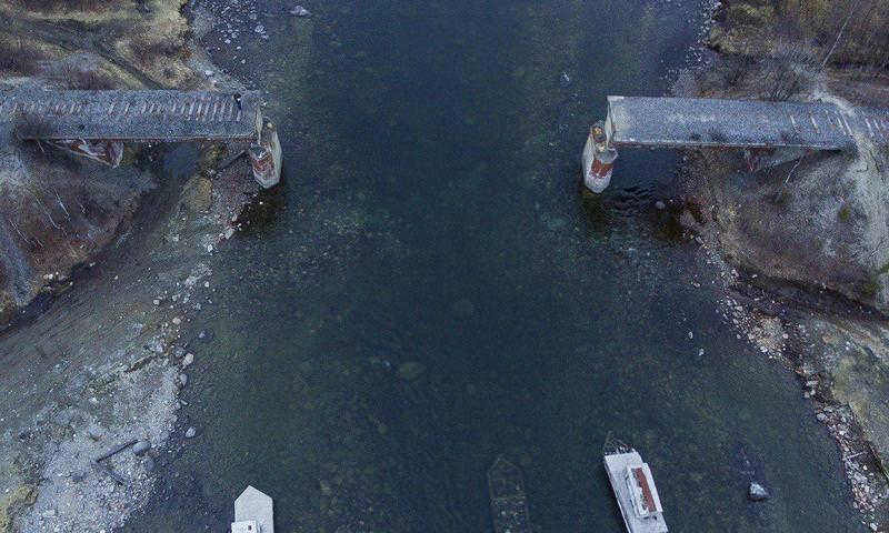 В Мурманской области украли мост и сдали на металлолом