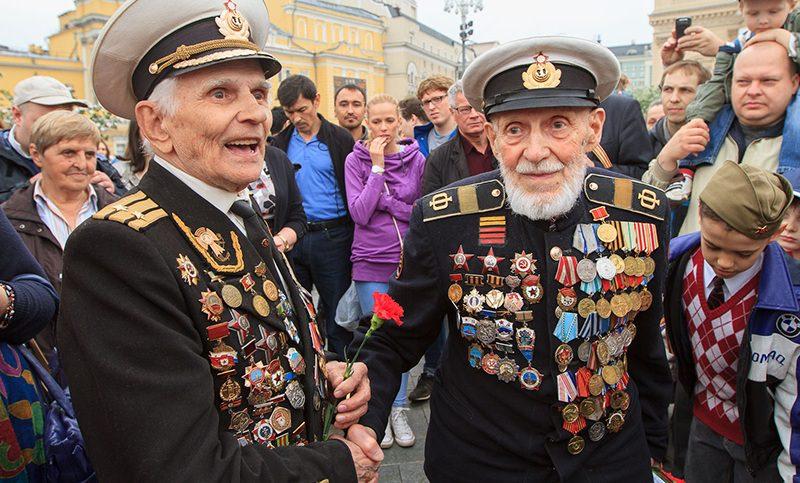 В России осталось около  75 тысяч участников Великой  Отечественной войны